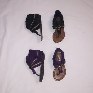 Other - TWO pairs of ADORABLE sandals!!!